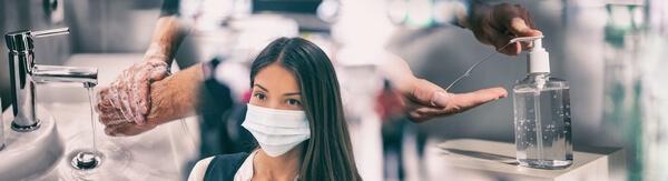 Corona virus en el ambiente